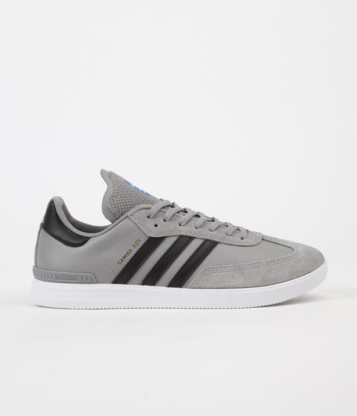 Adidas Samba Adv Shoes - Solid Grey / Core Black / White