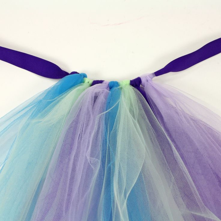 Tying a Tutu - Made this for my daughter.  Only used 4 yards of tulle and it turned out great!