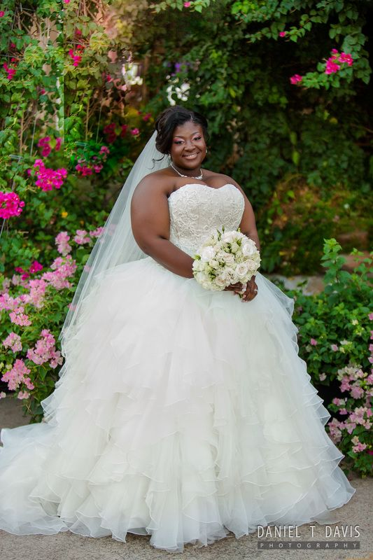 Best 25 african american brides ideas on pinterest for Plus size african wedding dresses