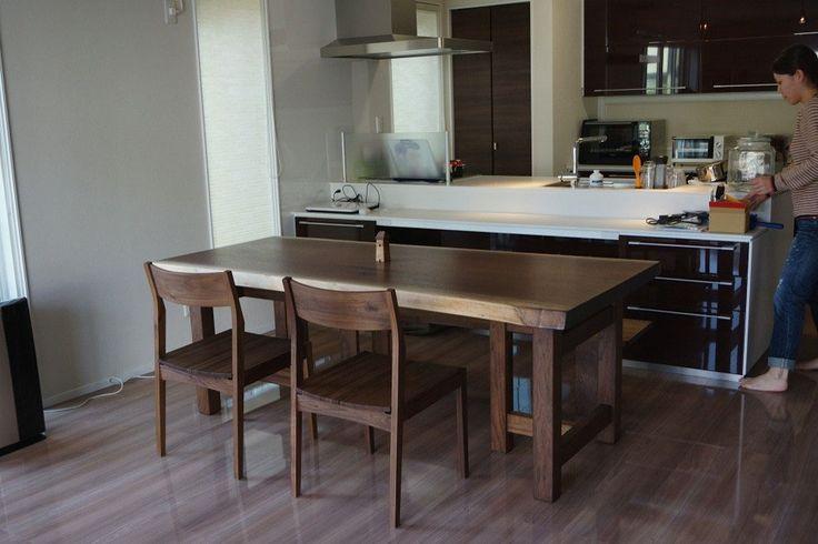テーブル - 一枚板のテーブル きくら 広島