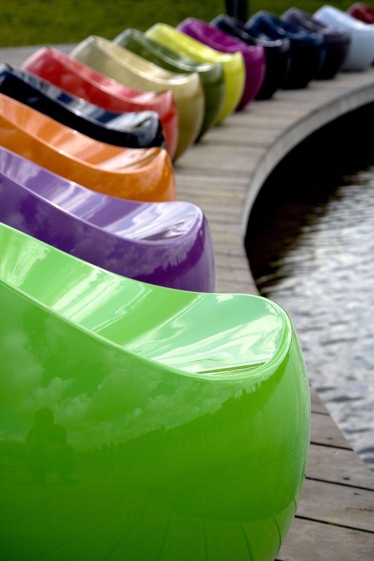 Pouf Ball Chair Blanc - XL Boom - Décoration et mobilier design avec Made in Design