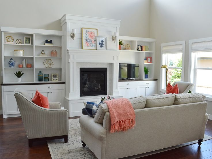 Family Room Interior Part - 42: Sita Montgomery Interiors: Client Project Reveal: Pretty And Polished Family  Room