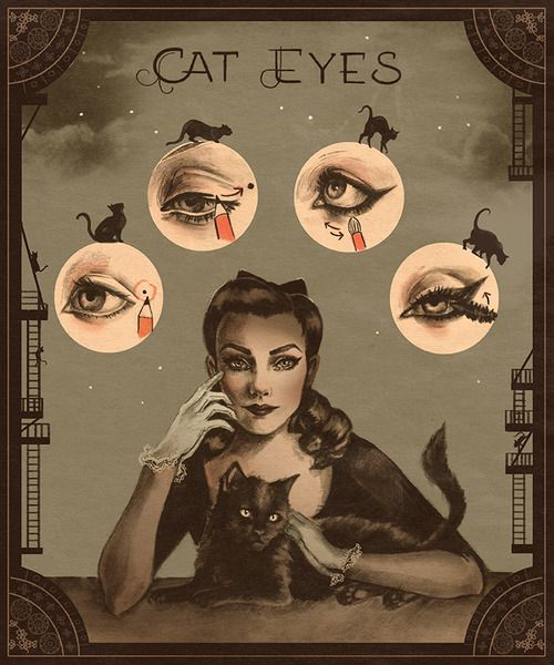 Cat Eyes, Sarah Anderson