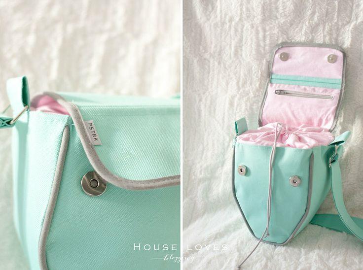 PSTRK in HOUSE LOVES - beautiful camera bag handmade