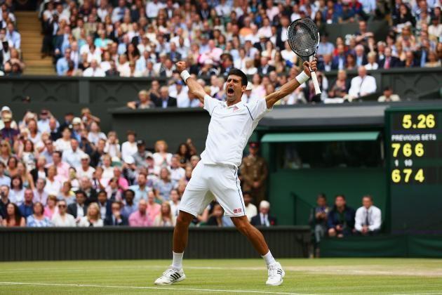 Djokovic vs. Federer: Live Score, Highlights from Wimbledon 2015 Men's Final