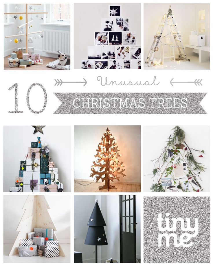 10 Unusual Christmas Trees ~ Tinyme