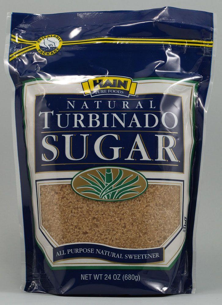 Hain Pure Foods Natural Turbinado Sugar -- 24 oz