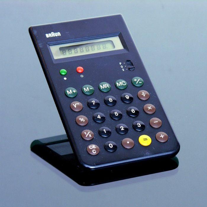 Braun ET 55 pocket calculator