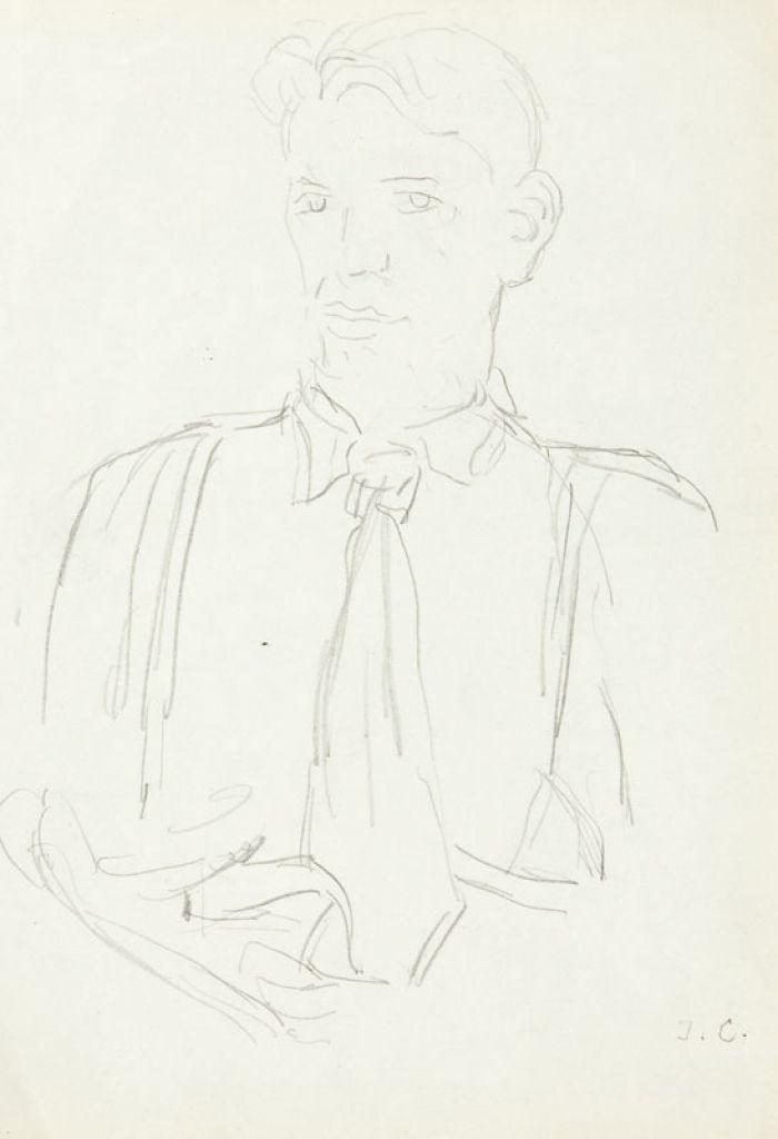 Jan Cybis - Autoportret