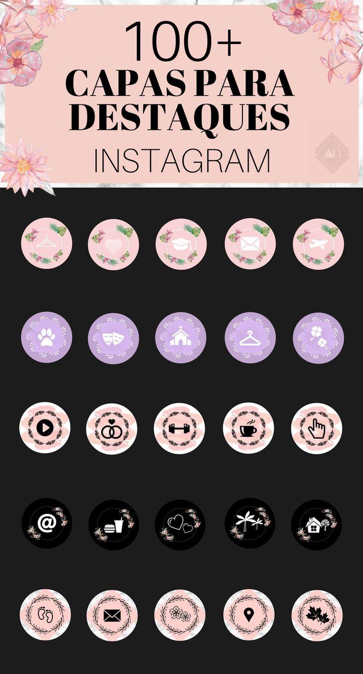 100 Capas Para Destaques Do Instagram Stories Highlightspapel De