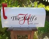 Wedding Card Box  Holder Unique Wedding Mailbox Monogrammed. $50.00, via Etsy.