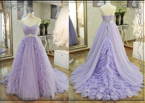 Hey, I found this really awesome Etsy listing at https://www.etsy.com/listing/172181260/lavender-spaghetti-straps-ruched-fitted