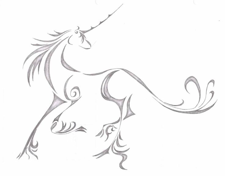 Yes, I want a unicorn tattoo. stfu