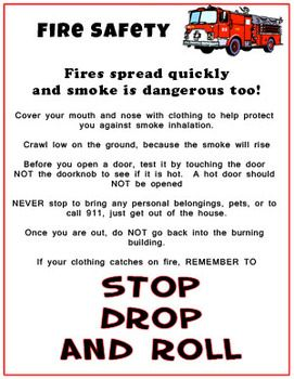 Fire Safety Education Resource for Kids!