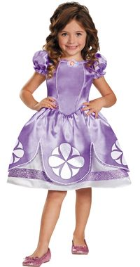 From the popular Disney Junior Channel show! Full skirted princess dress with character cameo. Shoes not included. Toddler small fits size 2T.
