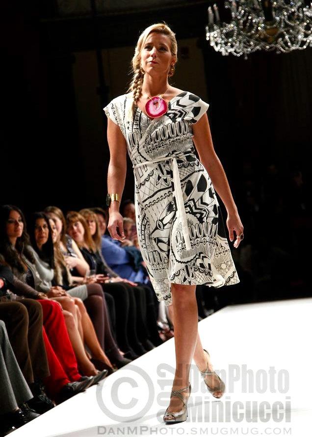 Statement Dress AW12 Nicole Lebreux Original Apparel ---  Love it!