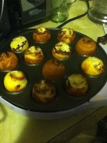 Bacon cream cheese puffs ~ another reason to get a cake pop maker!!