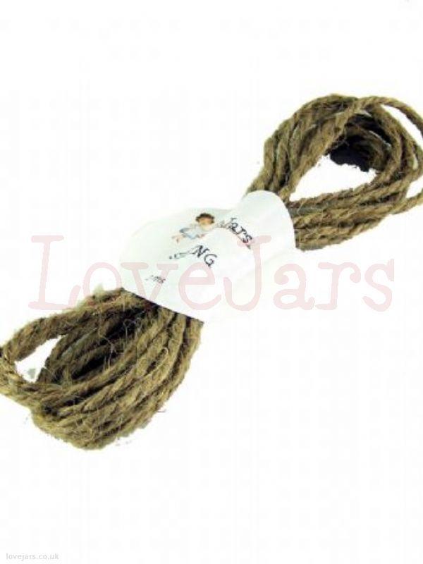 We love Jute String 2mtr - find them in our online shop under Rosie's Pantry: Jarcessorise, Ribbon Raffia String Ties