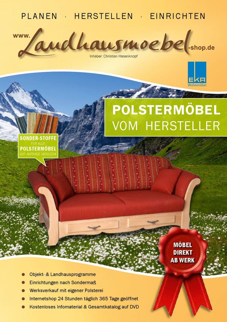 13 best landhausm bel kollektionen aus dem eka m belwerk images on pinterest ds homes and sofas - Landhausmobel bayern ...