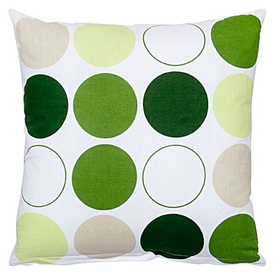 Modern shapes and sharp colours make the Printed Circles Cushion from DG37 a stand-out piece for your home's décor.