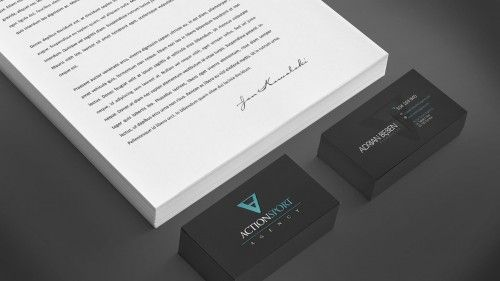 ACTION SPORT AGENCY'S CORPORATE IDENTITY  by FUNKTIONAL