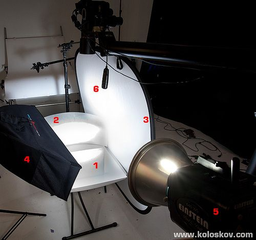 product photography lighting-setup-reflective objects by a… | Flickr