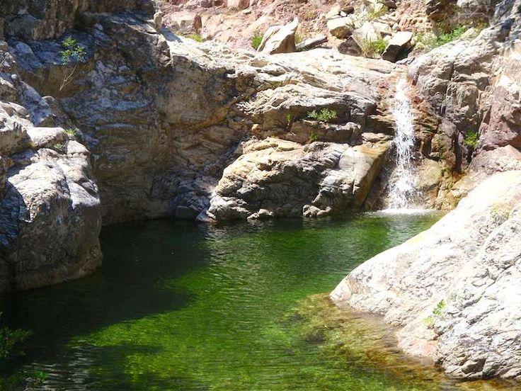 aiguille de bavella piscine naturelle paysage des lieux