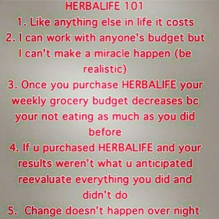 Herbalife 101....it makes sense. Let me help you with your weight management. Call or email me with any questions or concerns.   Destiny Negrete (786)985-9854 DNegrete80@Gmail.com