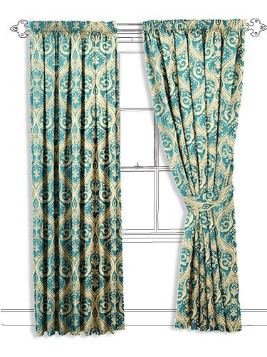 best 25 teal curtains ideas on pinterest curtains window curtains and curtains for bedroom. Black Bedroom Furniture Sets. Home Design Ideas