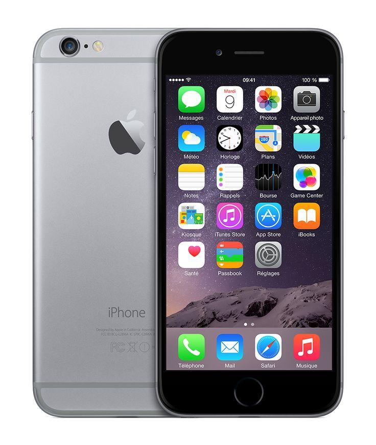 iPhone 6 64 Go Gris sidéral Déverrouillé - Apple Store Éducation (France)