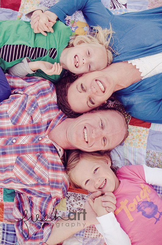 fun family shot- how can i get miles to lay like this... :)