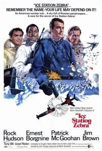Ice Station Zebra Movie Posters From Movie Poster Shop
