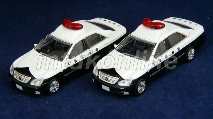 TOMYTEC HO GAUGE | TOYOTA CROWN POLICE | 1/80 | VOL.5 - NO.60 | SELL AS LOT
