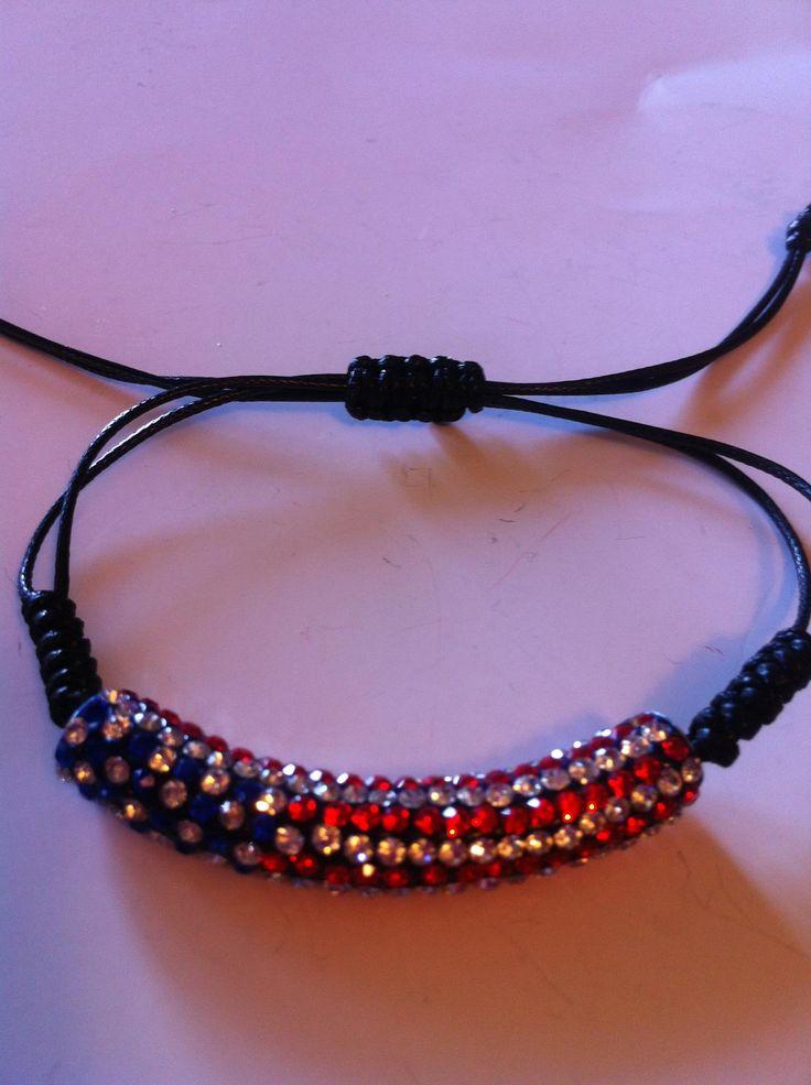 Patriotic Pride Bracelet | Triple MJ