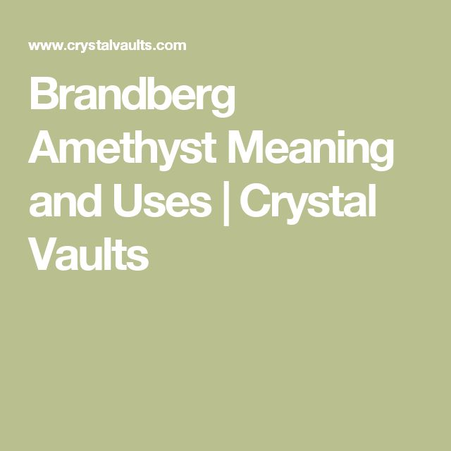 Brandberg Amethyst Meaning and Uses | Crystal Vaults