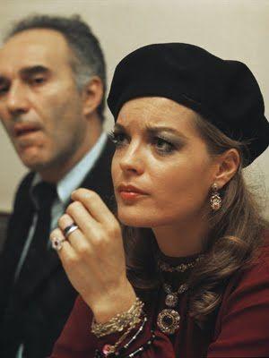 Romy Schneider & Michel Piccoli - 1970's