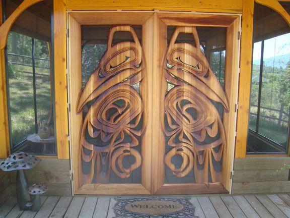Haida Doors Richard Schauerte http://www.yessy.com/art/?view=965997&skw=Haida