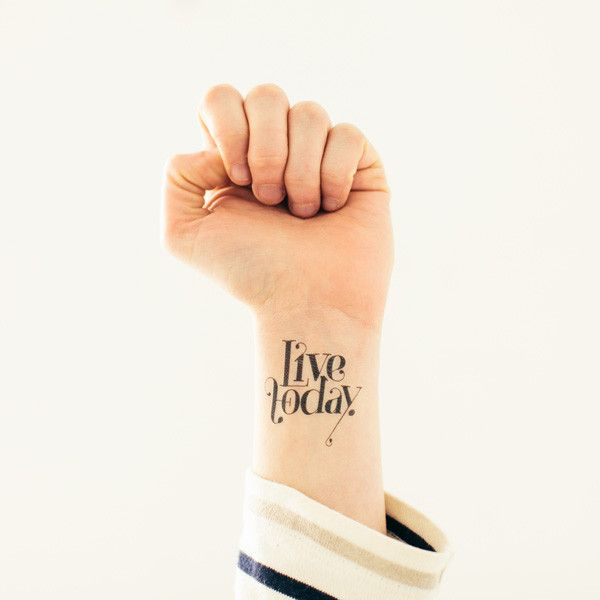 Temporary tattoos for adults, but they look real! Check out Tattly.com for a set of 2 for $5