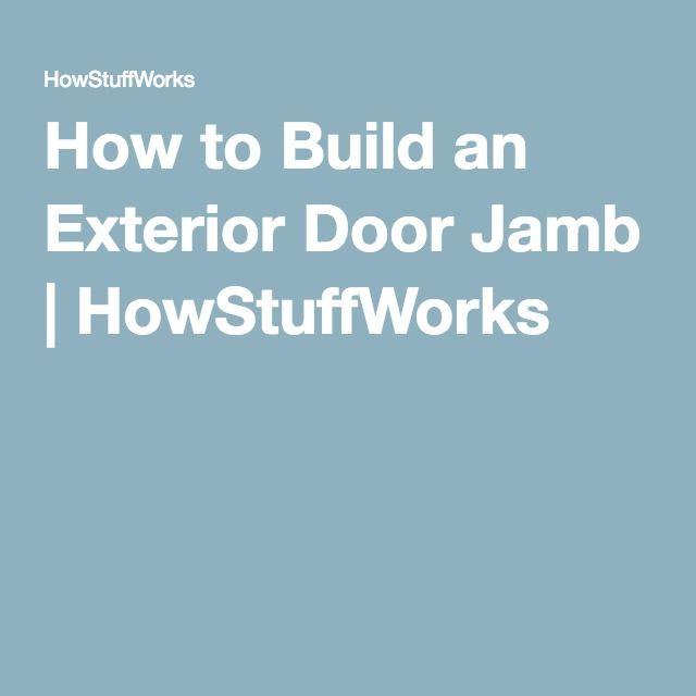 Paint Door Jambs Flat Or Semi Gloss