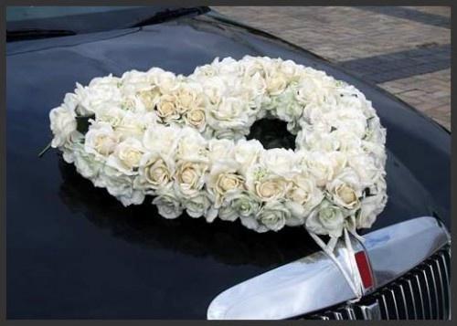 Beautiful Wedding Car Decoration