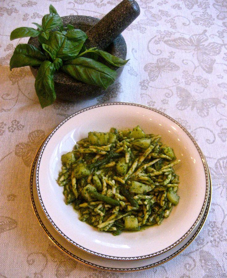4th Day of Christmas – Trofie Pesto Genovese   Kitchen Paradiso