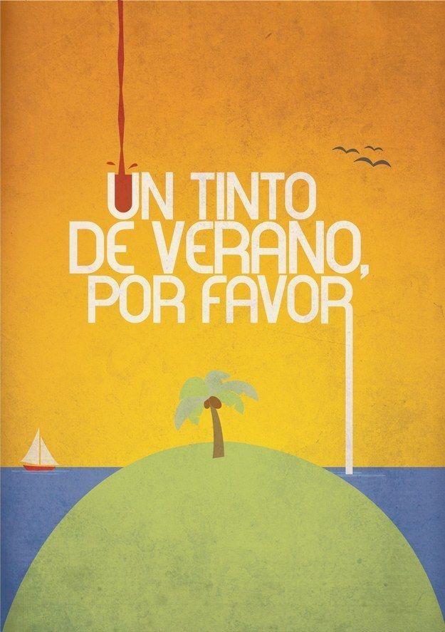 Lucky for you, sangria has a cheap and easy cousin called tinto de verano , or red summer wine.
