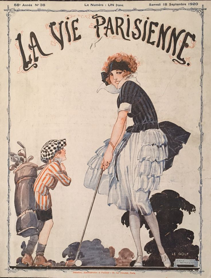 René Vincent (1879 – 1936). La Vie Parisienne, 18 Septembre 1920. [Pinned 12-vi-2015]