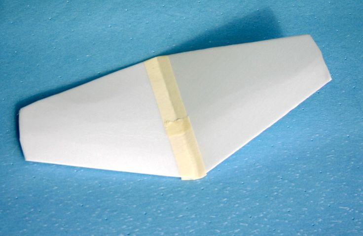 Slight shaping for a foam plate wing that can be added to a model airplane glider & 9 best Foam Plate Airplanes/Gliders images on Pinterest | Gliders ...
