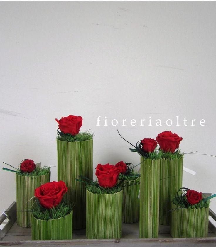 Fioreria Oltre/ Preserved rose arrangement