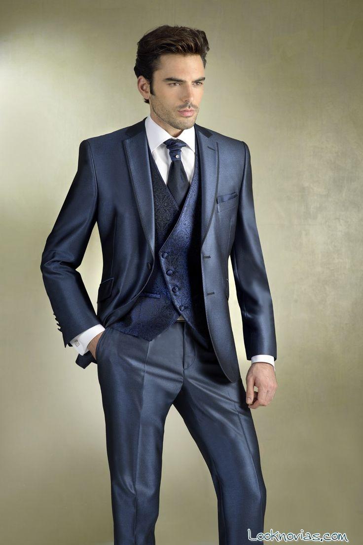 traje-azul-gala-novios.jpg (886×1329)