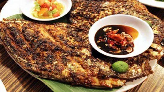 Resep Membuat Ikan Baronang Bakar Spesial Makan Siang Makanan Resep Ikan Bakar