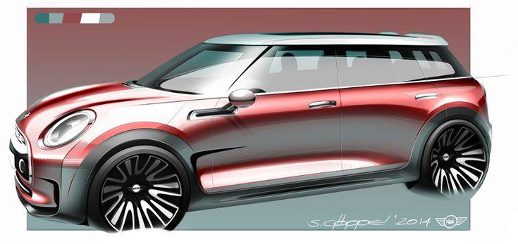 MINI premieres the clubman concept, a six-door hatchback in geneva