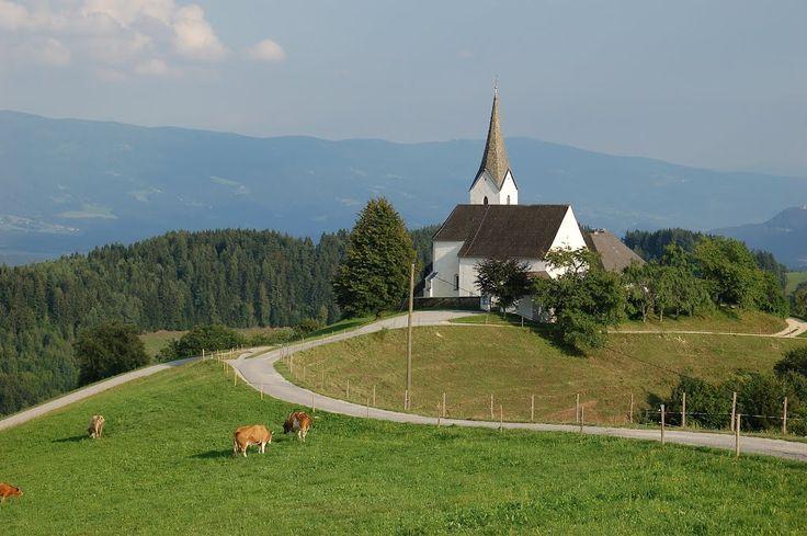 St. Andrä im Lavanttal-Lamm, Kirche Hl. Georg (Wolfsberg) Kärnten AUT