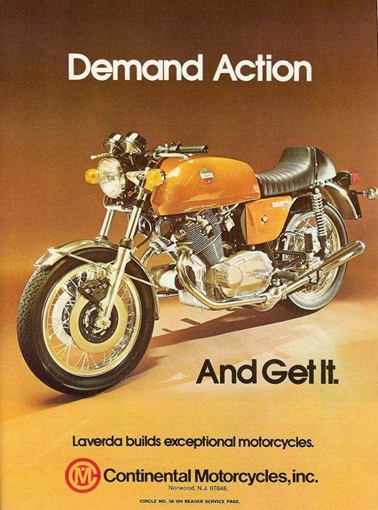 Laverda Classic Bike Advert